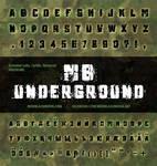 MB Underground | Grunge Font