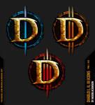 Diablo 1 2 3 Icons by modblackmoon