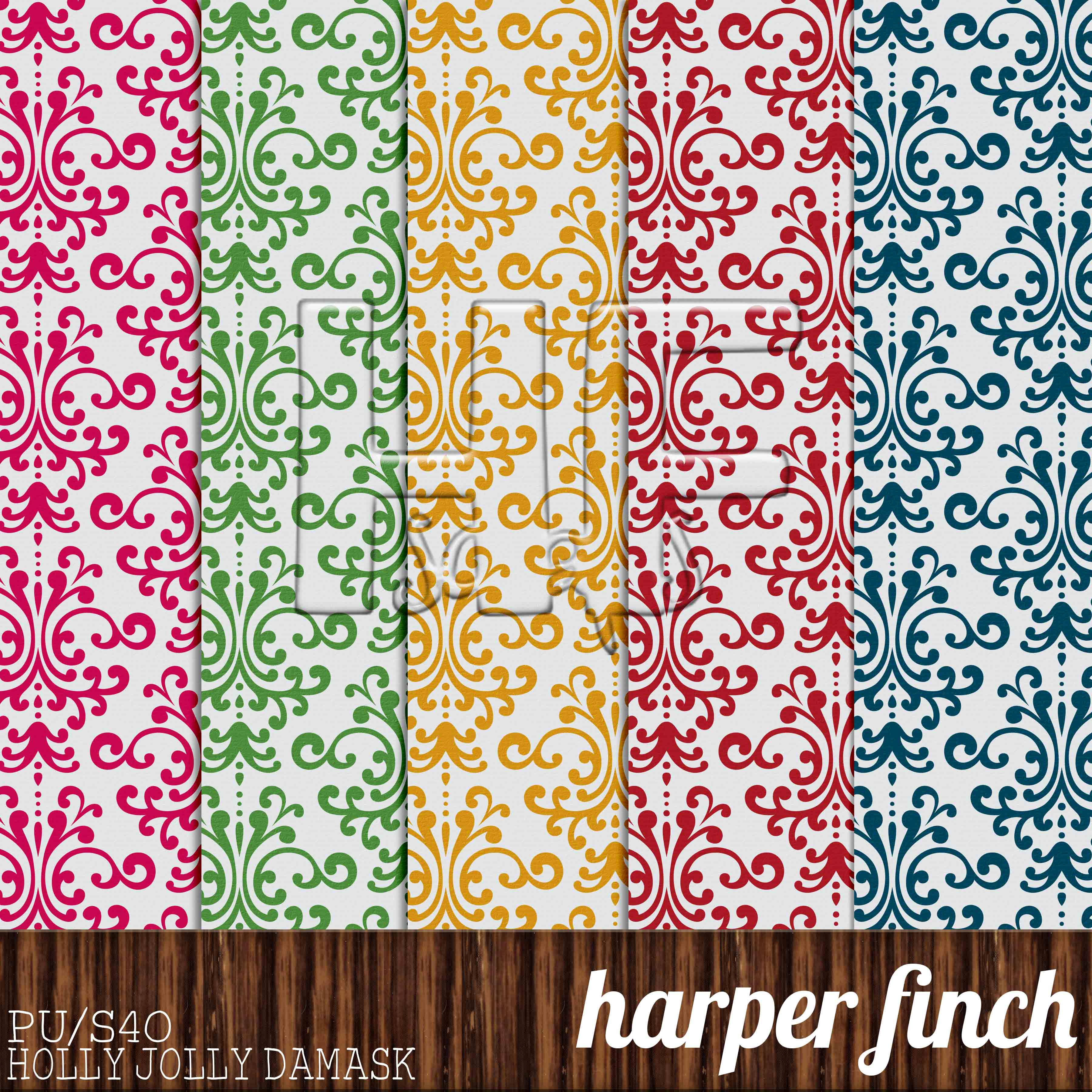 Pattern Paper Interesting Decorating Ideas