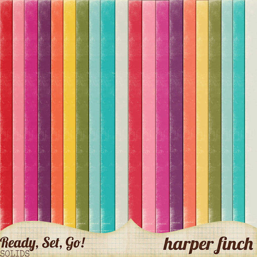 Ready, Set, Go! Series, Solid Color Papers by harperfinch