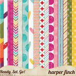 Ready, Set, Go! Series, Patterned Papers 2
