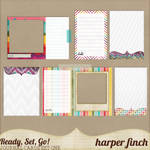 Ready, Set, Go! Series, Journal Cards