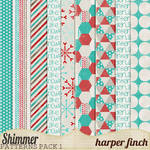 Shimmer, Pattern Paper Pack One