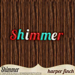 Shimmer, 3 Alphabets/Numerals/Punctuation