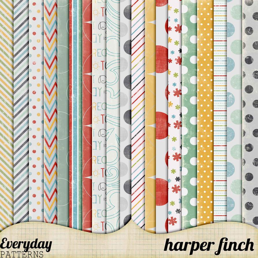 Everyday Patterns by Harper Finch by harperfinch