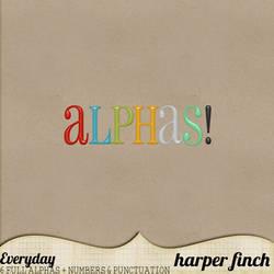 Everyday Alphas by Harper Finch