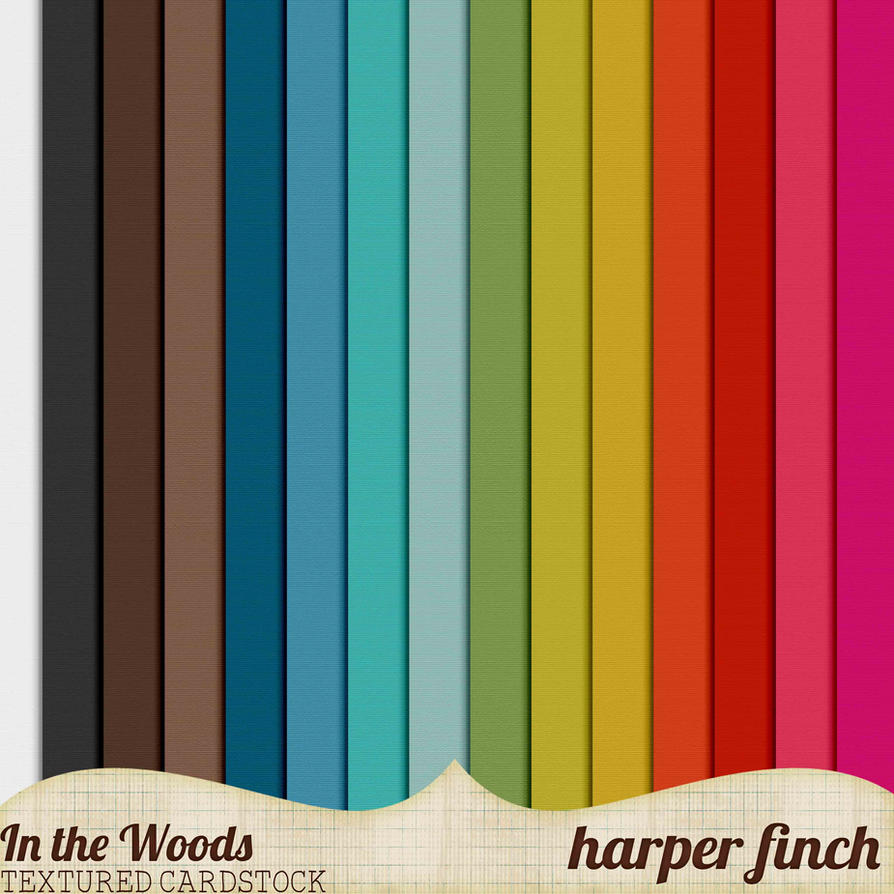 In the Woods Cardstock by Harper Finch by harperfinch