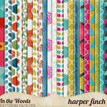 In the Woods Patterns Pack One by Harper Finch