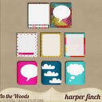 In the Woods Journal Cards by Harper Finch