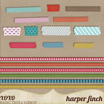 In the Woods Washi Tape and Ribbon by Harper Finch