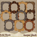 In the Woods Wood Frames by Harper Finch