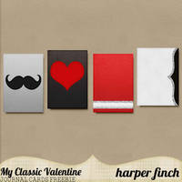 My Classic Valentine Freebie by Harper Finch by harperfinch