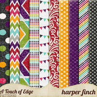 A Touch of Edge Patterns by Harper Finch