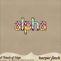 A Touch of Edge Alpha by Harper Finch by harperfinch