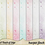 A Touch of Edge Splatter Papers by Harper Finch