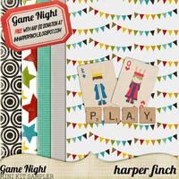 Game Night Sampler by Harper Finch by harperfinch