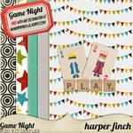 Game Night Sampler by Harper Finch
