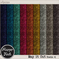 Map it Out Glitter by harperfinch