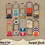 Map it Out Bookmarks