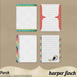 Journal Card Freebie by harperfinch