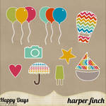 Happy Days Stickers