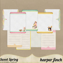 Sweet Spring Journal Cards