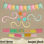 Sweet Spring Embellishments