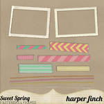 Sweet Spring Fasteners and Frames