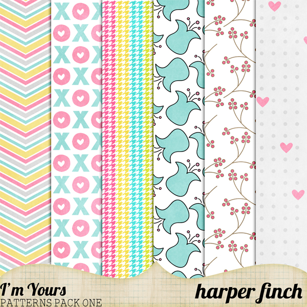 I'm Yours Patterns Pack One