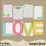 I'm Yours Journal Cards