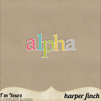 I'm Yours Alpha Pack One by harperfinch