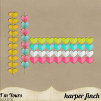 I'm Yours Hearts by harperfinch