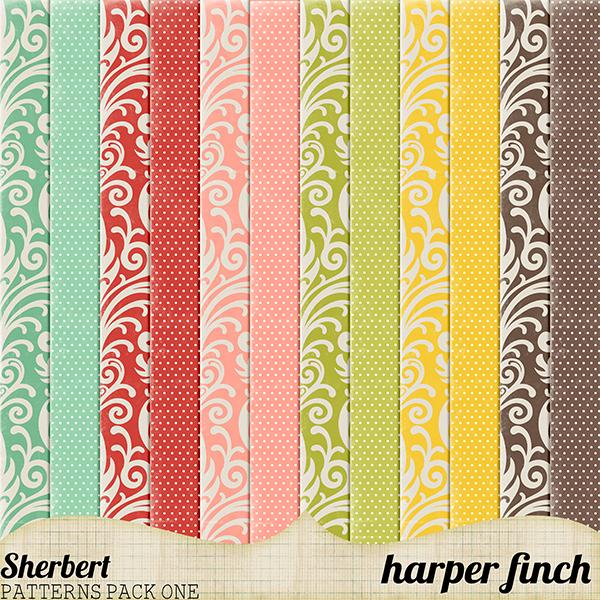 Sherbert Patterns Pack One