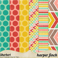 Sherbert Patterns Pack Two by harperfinch