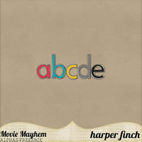 Movie Mayhem Alphas Freebie by harperfinch