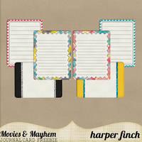 Movie Mayhem JC Freebie by harperfinch