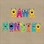 Monster Word Art