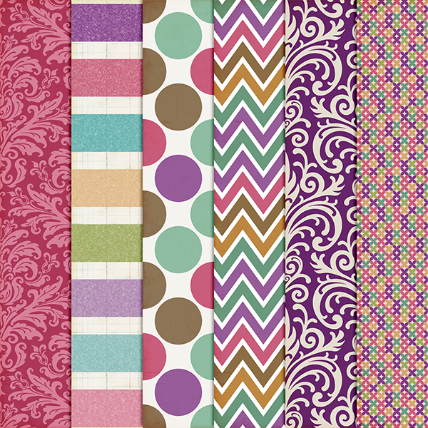 It's My Party Patterns 2 by harperfinch