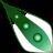 Green arrow cursor set by SireaSis