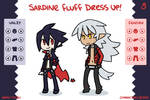 Sardine Fluff Dress Up Game by Nami-Tsuki