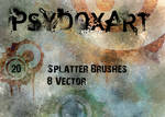 SplatterBrushSet  - Vol 1 -