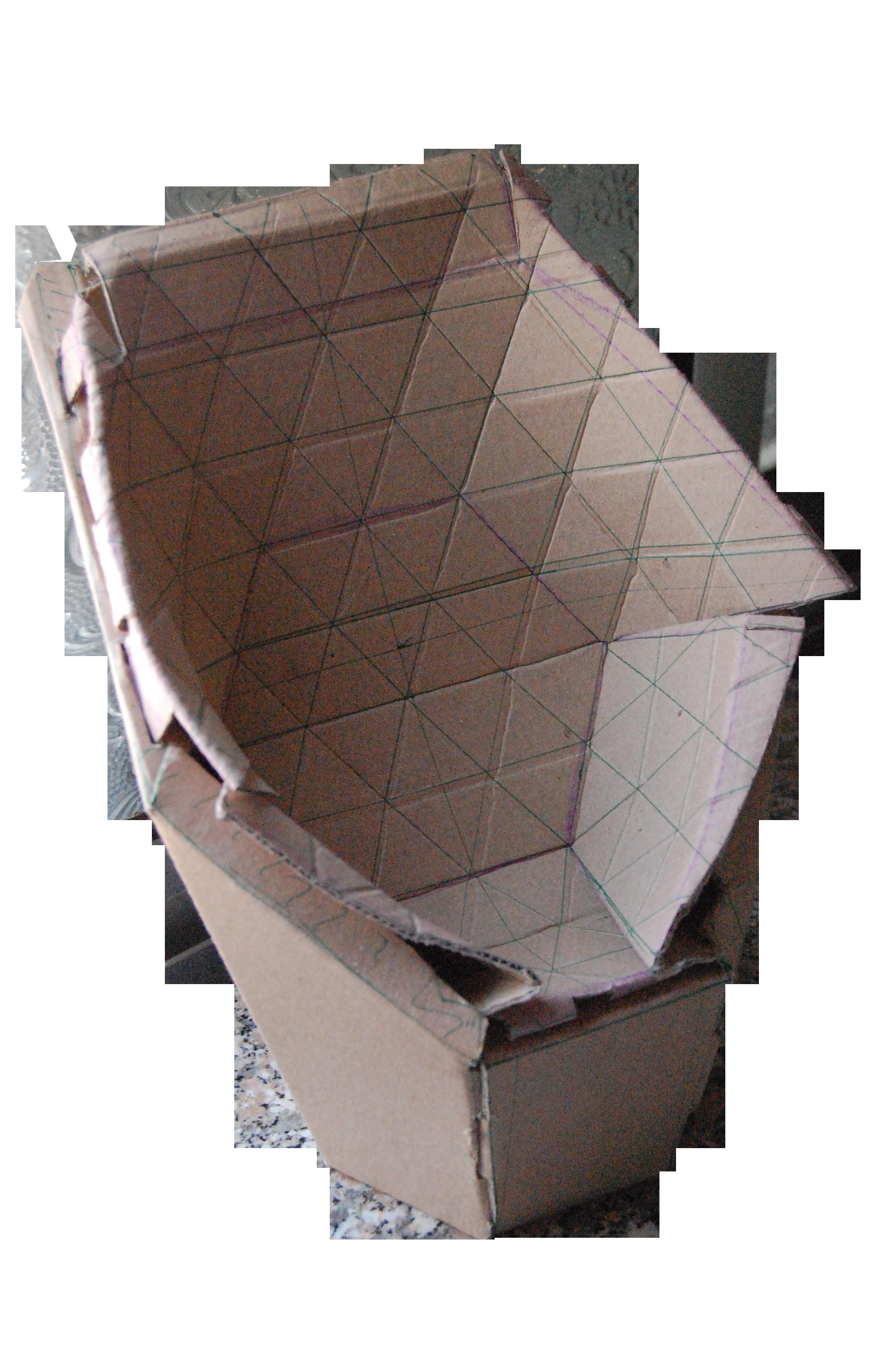 Shell Cardboard Chair By FiJ