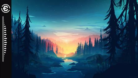AutumnLight Music visualizer 1