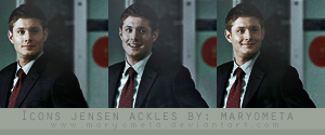 Icon Jensen Ackles by maryometa