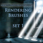 CGPaintings Rendering Brushes by CGPaintings