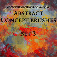 Custom Abstract Brushes by CGPaintings