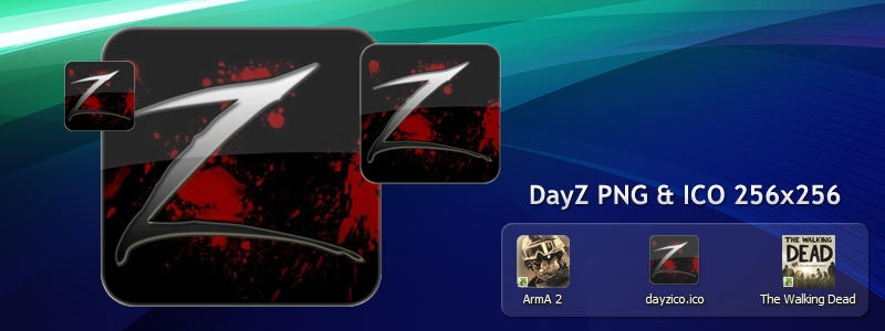 ArmA 2 DayZ Mod Icon PNG and ICO 256x256 by NeonFiles