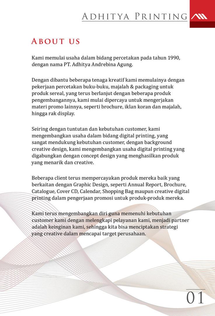 PT Aditya Andrebina Company Profile Pak Sarwono by Sopian