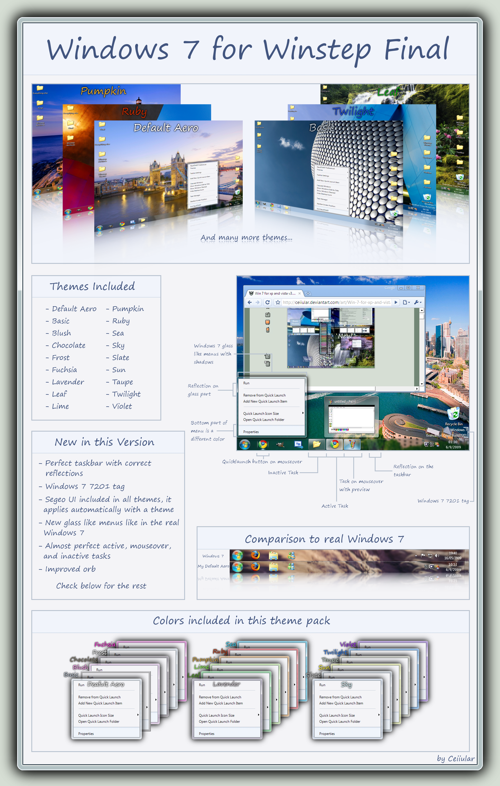 Windows 7 for Winstep Final by CeIIular