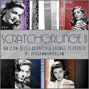ScratchGrunge II Icon Textures by jordannamorgan
